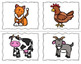 Farm Animal Speech Cards {Freebie}