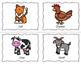 Farm Animal Speech Cards {Freebie}