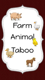 Farm Animal Taboo