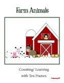 Farm Animal Ten Frames