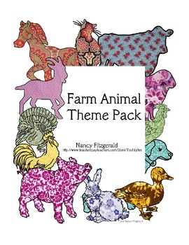 Farm Animal Theme Pack