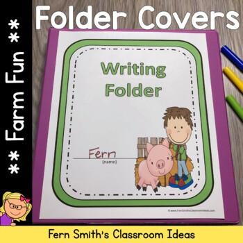 Binder Covers - Farm Friends and Farm Animals