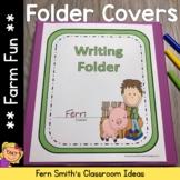 Student Binder Covers - Farm Friends and Farm Animals Stud