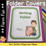 Student Binder Covers - Farm Friends and Farm Animals Stud