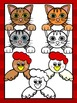 Farm Animal Toppers Clipart- Farm Faces- Commercial & Personal use