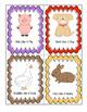 Farm Animal Transition Cards