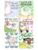 Farm Animal Valentines