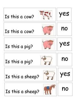 Farm Animal Yes/No Questions