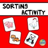 Farm Animal or Zoo Animal???---A Sorting Activity