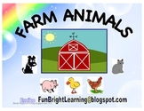 Farm Animals -14 pages