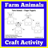 Farm Animal Craft | Farm Animals Coloring Sheets | Farm Animal Activity