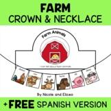 Crown Craft - Farm Animals Activity