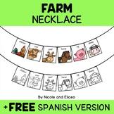 Farm Animal Activity Necklace Craft