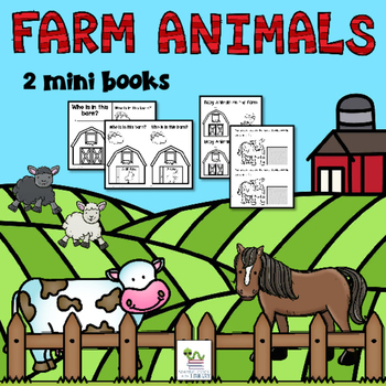 Farm Animals Mini Books