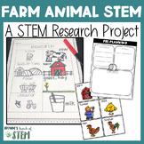 Farm Animals: A STEM Research Project | {Digital & Printable}