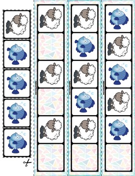 Farm Animals AB Pattern Cards | 30 Cards
