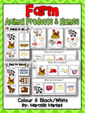 FARM ANIMAL PRODUCT AND HOMES- LITERACY CENTER MATS