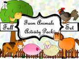 Activity Book - Cute Farm Animals - Fall activities