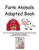 Farm Animals Adapted Book