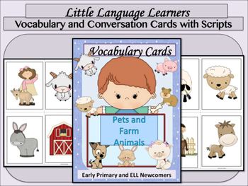 Farm Bundle Vocabulary and Concepts - ELL Newcomers Too!