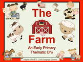 ESL Activities: Farm Bundle Vocabulary and Concepts - ELL Newcomers Too!