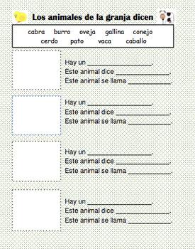 Farm Animals - Animales de la Granja