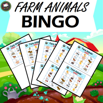 Farm Animals  BINGO