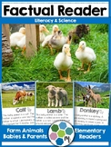 Reader: Farm Animals Babies - Nonfiction with real photos