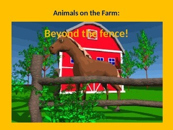 Farm Animals: Beyond the Fence! (TOTALLY ANIMATED sound clips included)