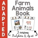 Farm Animals Book (Peekaboo Barn Companion)