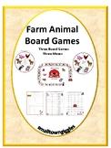 Games Farm Animals Broad Games Mazes Pre-K, K, Fine Motor Activities