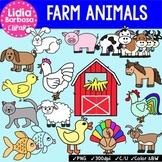 Farm Animals Bundle {Clip Art for Teachers}