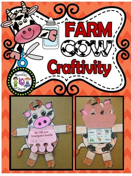 Farm Animals- COW Craftivity and Farm Investigation Booklet