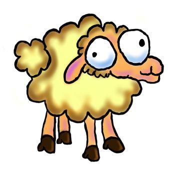 Farm Animals - Cartoon Clip Art Bundle