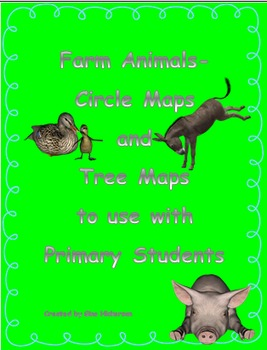Farm Animals Circle Maps and Tree Maps