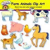 Farm Animals Clip Art