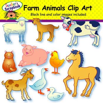 Free farm animal clipart for teachers - photo#44