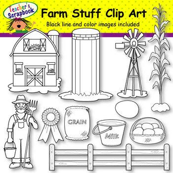 Farm Animals Clip Art BUNDLE