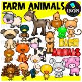 Farm Animals Clip Art Bundle {Educlips Clipart}
