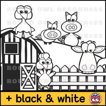 Farm Animals - Clipart