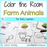Farm Animals Color the Room
