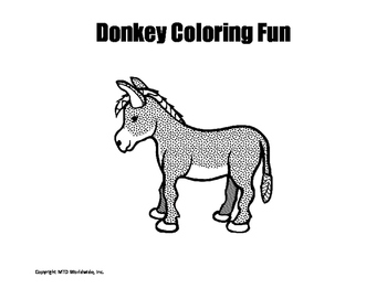 Farm Animals Coloring Page Bundle