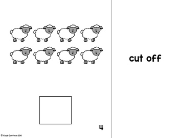 Farm Animals Count It Out Adapted Book