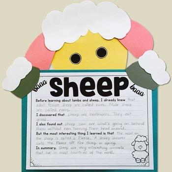 Farm Crafts (Cow, Pig, Sheep, Barn)