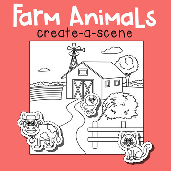 Farm Animals Habitat Create-a-Scene