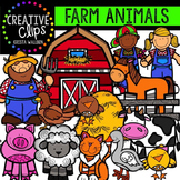 Farm Animals {Creative Clips Digital Clipart}
