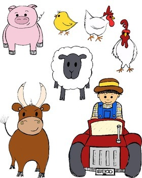 Farm Animals Pretend Play Printables