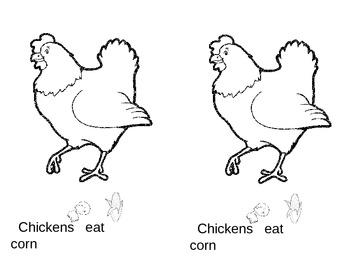 Farm Animals Eat What?