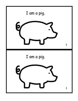 Farm Animals Emergent Reader 0.4 or A