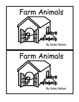 Farm Animals Emergent Reader 0.7 or B